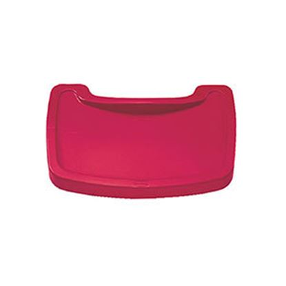 Picture of Rubbermaid  Red Tray For Sturdy High Chair