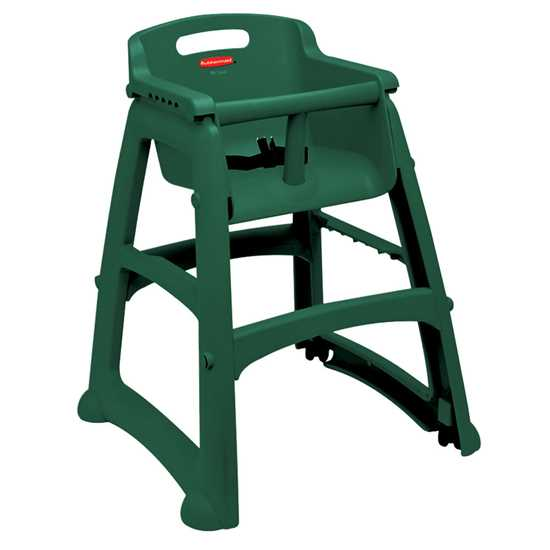 Picture of Rubbermaid  Green Sturdy High Chair