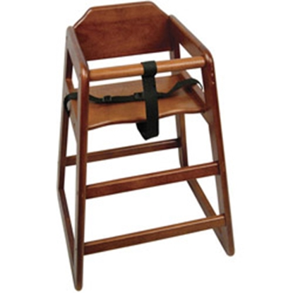 """Picture of Walnut High Chair 30.1x20"""" (76.5x50.8cm)"""