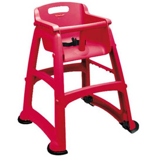 Picture of Rubbermaid  Red Sturdy High Chair