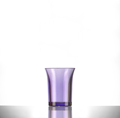 Picture of Purple Polystyrene Shot Glass 2.5cl (.85oz)