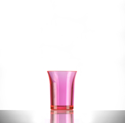 Picture of Red Polystyrene Shot Glass 2.5cl