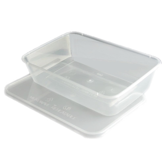 Picture of Plastic Take Away Containers 50cl (17.5oz)
