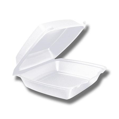 """Picture of White HP2 Meal Box 6.8x5.5x3"""" (17x13.5x7.5cm)"""