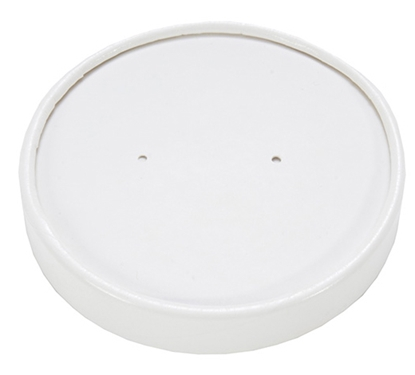 Picture of Lid For 16oz White Soup Container (Box/500)