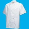 Picture of White Short Sleeve Chef Jacket (M)