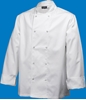 Picture of White Long Sleeve Chef Jacket (S)