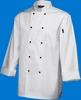 Picture of White Long Sleeve Superior Chef Jacket (L)