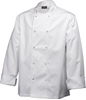 Picture of White Long Sleeve Chef Jacket (L)