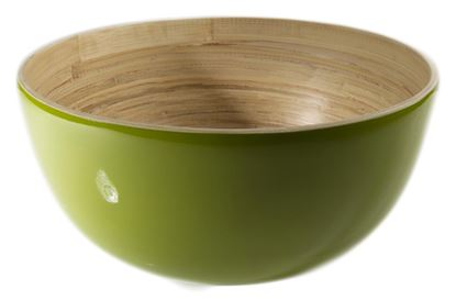 Picture of Green Bamboo Bowl