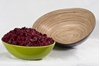"""Picture of Purple Oval Bamboo Bowl 12.6x3.9"""" (32x10cm)"""
