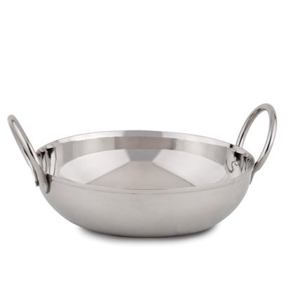 """Picture of Stainless Steel Balti Dish 6""""(15cm)"""