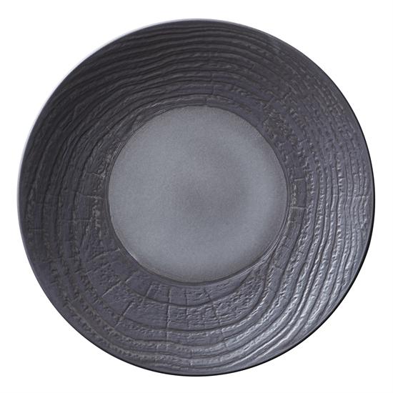 "Picture of Revol Arborescence Black  Round Plate 12"" (31cm)"