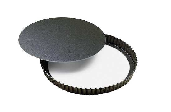 Picture of Fluted Non-Stick Tart Pan / Removable Bottom