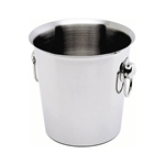 Picture of Stainless Steel Wine Bucket With Ring Handles
