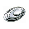 """Picture of Stainless Steel Oval Flat 8"""" (20cm)"""