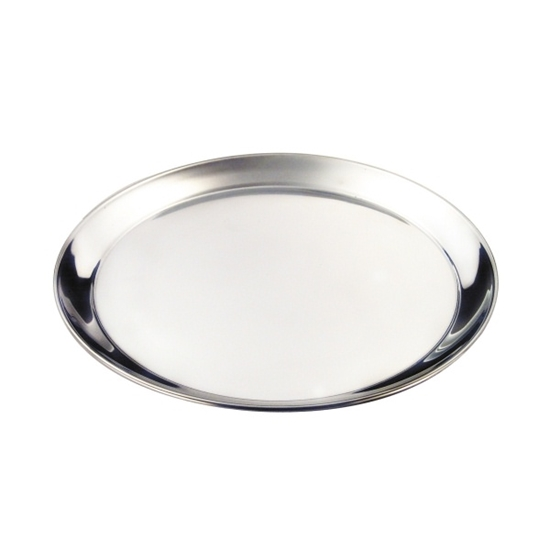 """Picture of Stainless Steel Round Tray 16"""" (40.5cm)"""