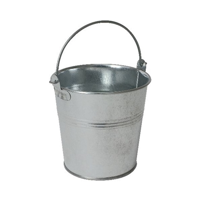 "Picture of Round Galvanised Bucket 5.1x4.7"" (13x12cm)"