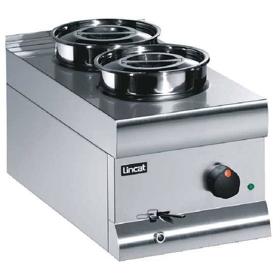 Picture of Lincat  2 Pot Wet Heat Bain Marie