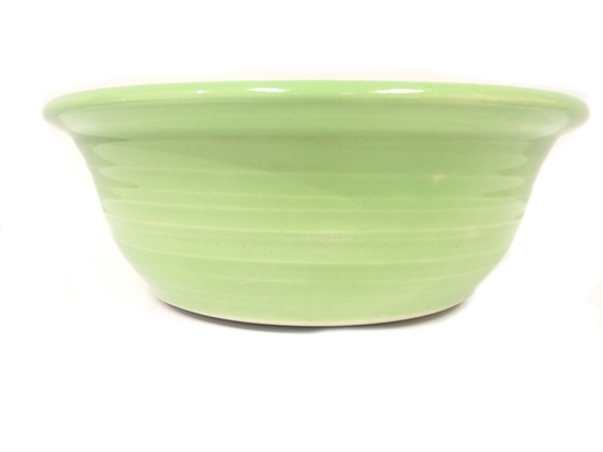 """Picture of Reactive Lime Green Salad Bowl 11.8x3.9"""" (30x10cm)"""