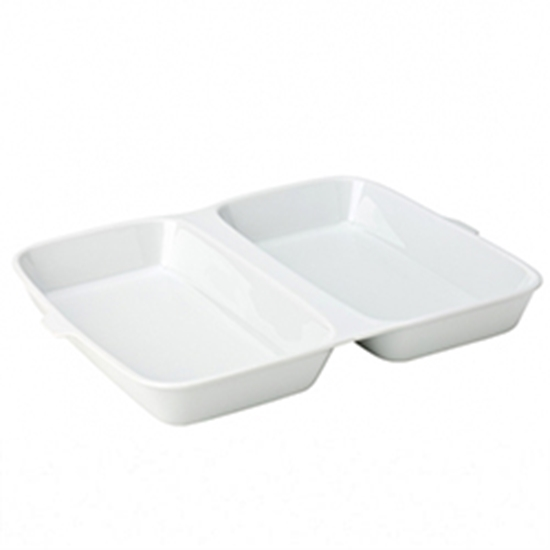 "Picture of Porcelain Fish & Chip Box 13x8.5"" (33x21.6cm)"