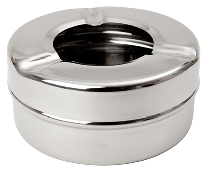 Picture of Stainless Steel Ashtray Windproof 3.5″ (8.9cm)
