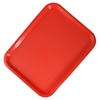 """Picture of Red Fast Food Tray 16x12"""" (40.5x30.5cm)"""