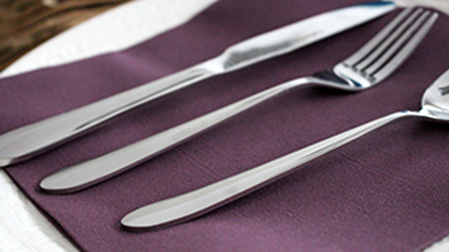 Picture for category 18/0 Stainless Steel Cutlery