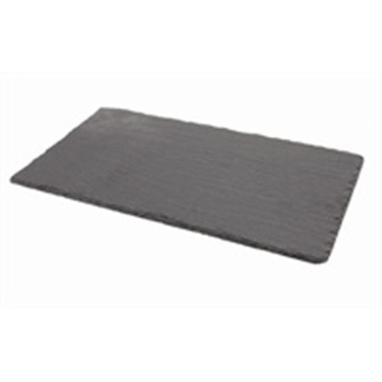 "Picture of Rectangular Slate Platter 9.8x5.1"" (25x13cm)"