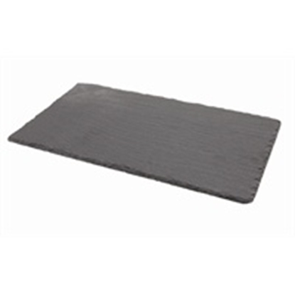 "Picture of Rectangular Slate Platter 12.6x10.2"" (32x26cm)"