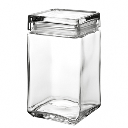 Picture of Square Cookie Jar 1.5L