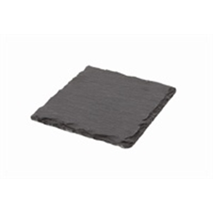 """Picture of Natural Edge Slate Coaster 4x4"""" (10x10cm)"""