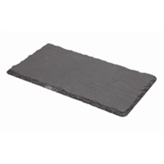 "Picture of Rectangular Slate Platter 7.9x4.3"" (20x11cm)"