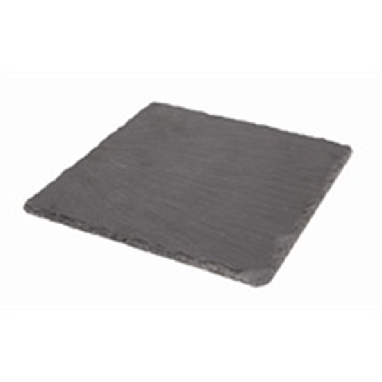 """Picture of Slate Platter Natural Edge 7.9x7.9"""" (20x20cm)"""