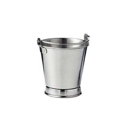 """Picture of Stainless Steel Pail 3.9x3.9"""" (10x10cm)"""