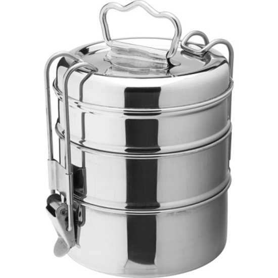 Picture of Stainless Steel 3 Tier Tiffin Box
