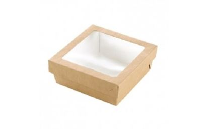 "Picture of Large Kraft Window Box 8"" (20cm)"