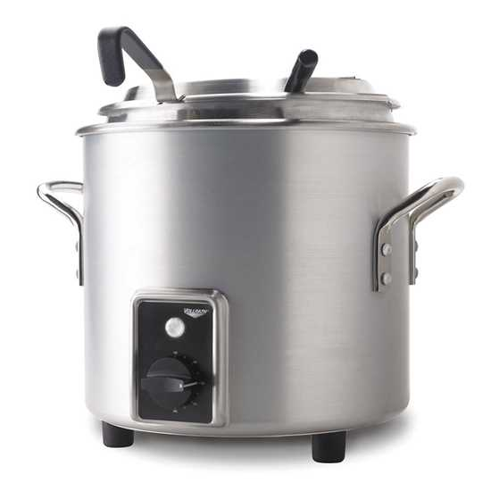 Picture of Vollrath Stainless Steel Retro Soup Kettle 10L