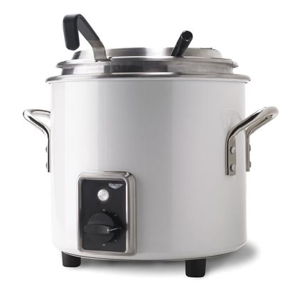 Picture of Vollrath White Retro Soup Kettle 10L