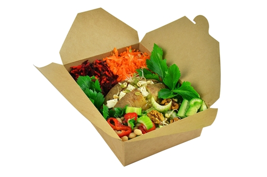 Picture of No.2 Compostable Food Carton 150cl (50.7oz)