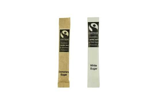 Picture of Compostable Fairtrade Sugar Sticks