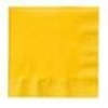 """Picture of Yellow Napkin 2 Ply 15.7"""" (40cm)"""