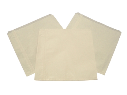 "Picture of White Sulphite Bag 10x10"" (25.5x25.5cm)"