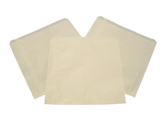 """Picture of White Sulphite Bag 10x10"""" (25.5x25.5cm)"""