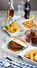 """Picture of Porcelain Burger Box 12.5x5.5"""" (31.5x14cm)"""