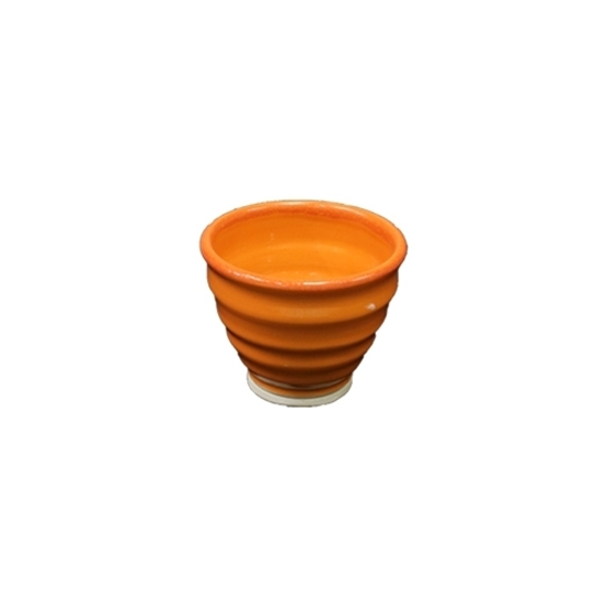 Orange Irish Handmade Bowl
