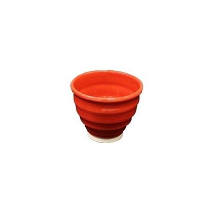 Irish Handmade Bowl Red