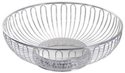 "Picture of 25cm (10"") S/S Round Basket"