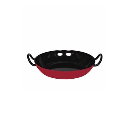 Picture of Red and Black Enamel Gourmet Dish