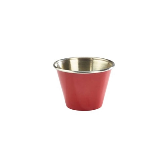 Picture of Stainless Steel Red Ramekin 7.1cl (2.5oz)